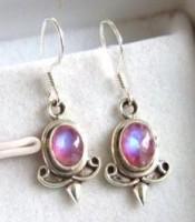 Pink Moonstone Earrings