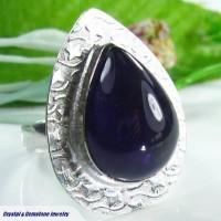 Amethyst Sterling Silver Ring