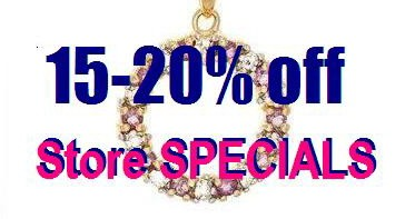 Store Specials - Special Prices on Selected Pieces of Crystal & Gemstone Jewelry