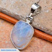 Moonstone Silver Pendant